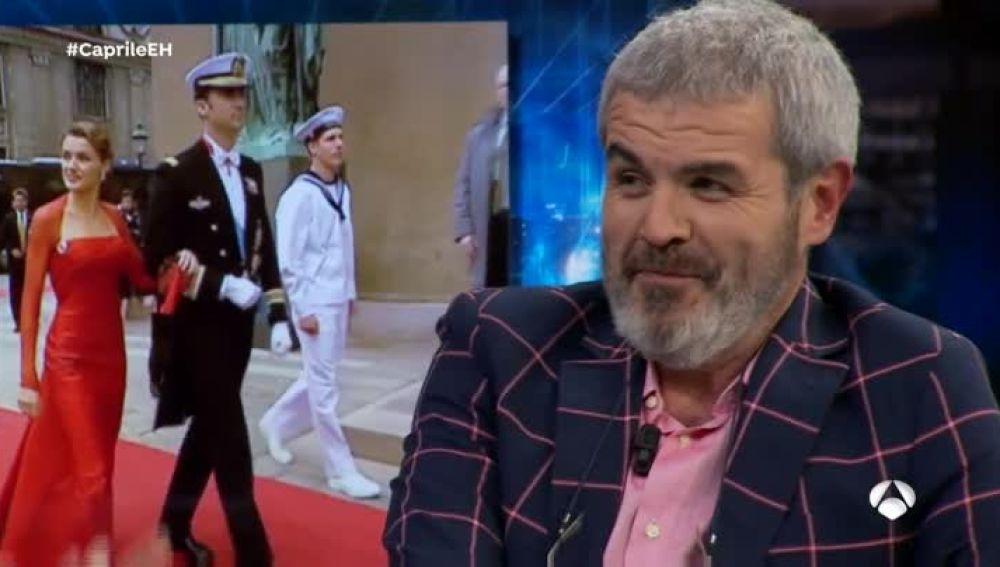 Lorenzo Carile ha creado numerosos vestidos para la Reina Dona Letizia