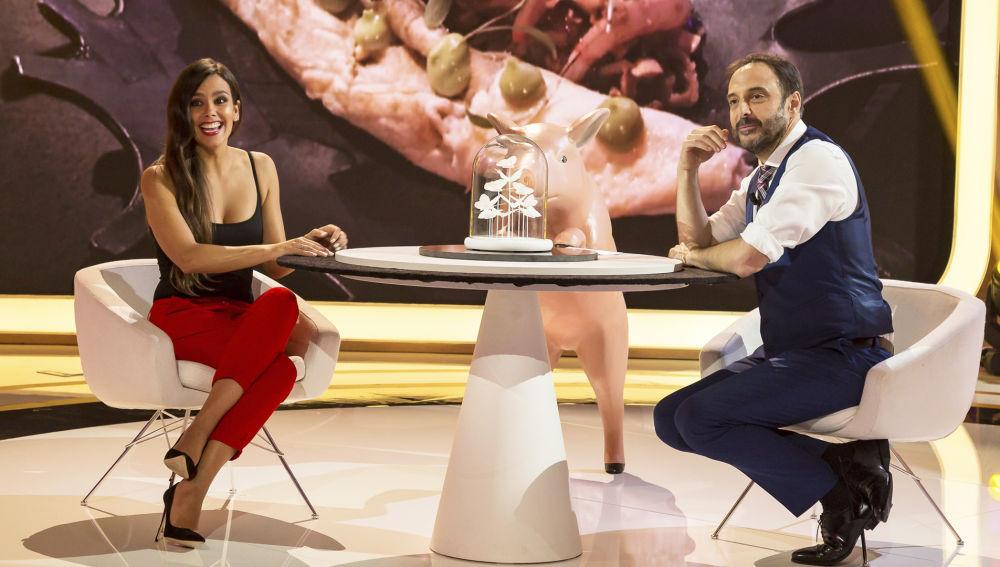 Cristina Pedroche confiesa en 'La noche de Rober' los detalles de su boda con Dabiz Muñoz