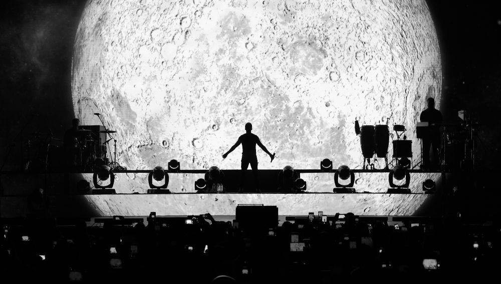 Pablo Alborán en su 'Tour Prometo'