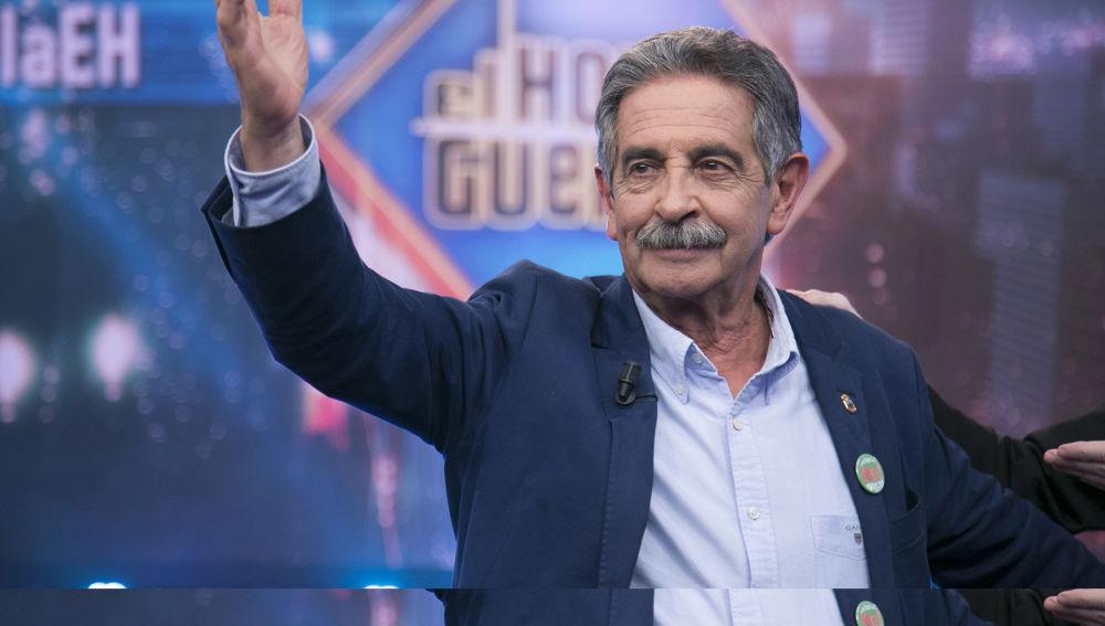 Miguel Ángel Revilla en 'El Hormiguero 3.0'