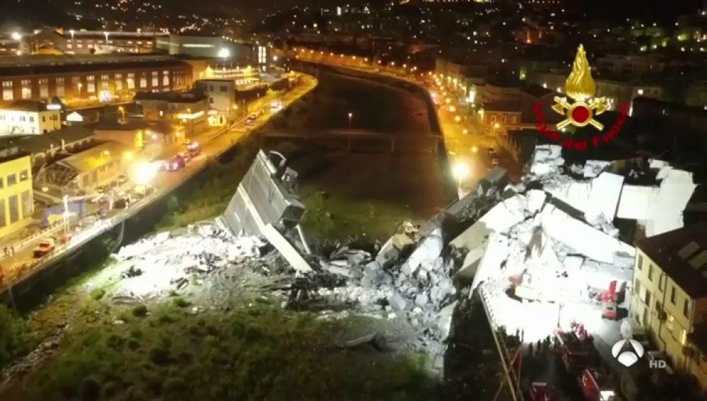 Noticias de la Mañana (16-08-18) Temor en Génova a que uno de los pilares aún en pie en el puente Morandi pueda derrumbarse
