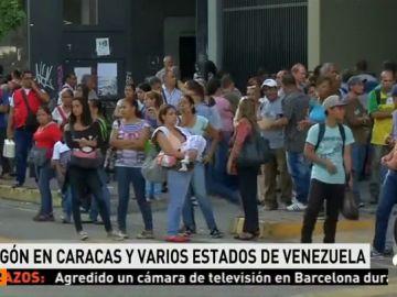 Apagón provocado en Caracas y varios estados vecinos