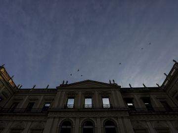 Vista general del Museo Nacional de Río de Janeiro