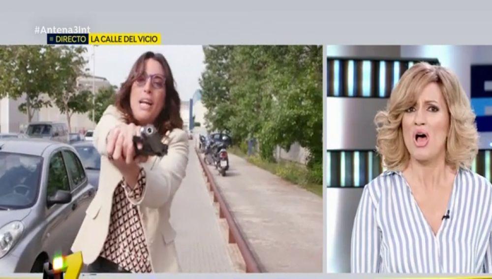 Una reportera de 'Espejo Público' comete un asesinato en directo