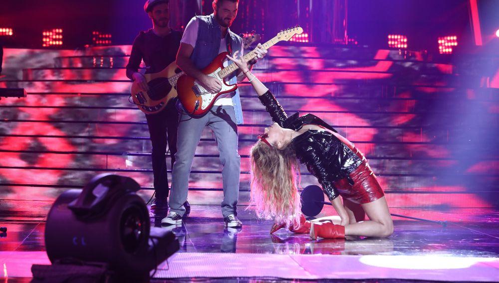 Paulina Rubio nos sorprende en el escenario de 'Tu cara me suena' para presentarnos su nuevo single 'Suave y sutil'