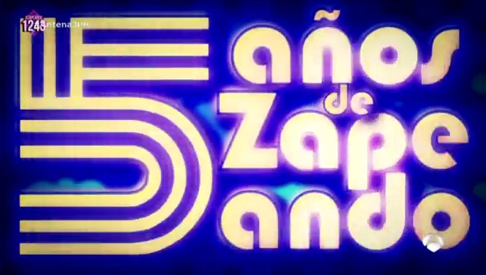 'Zapeando' celebra su quinto aniversario el 22 de noviembre