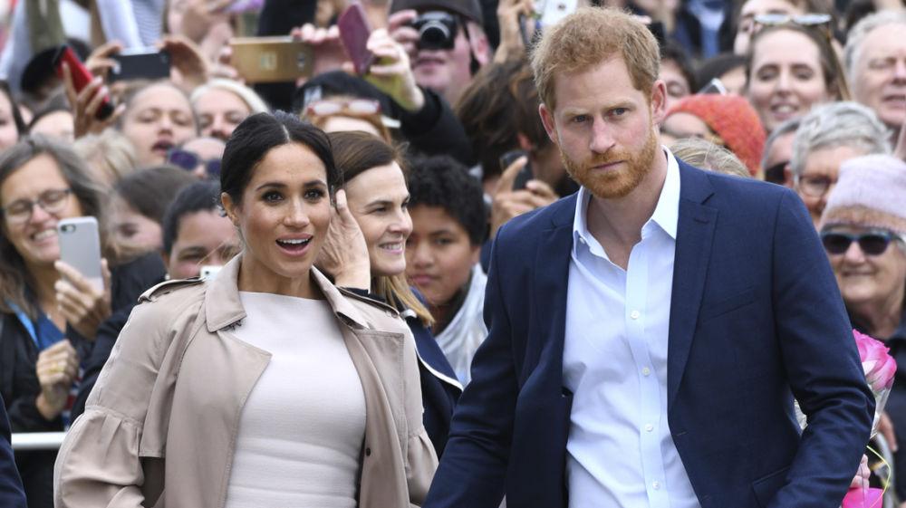 Los duques de Sussex, Meghan Markle y el príncipe Harry
