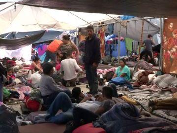 Se ha declarado crisis humanitaria en Tijuana por la caravana de migrantes