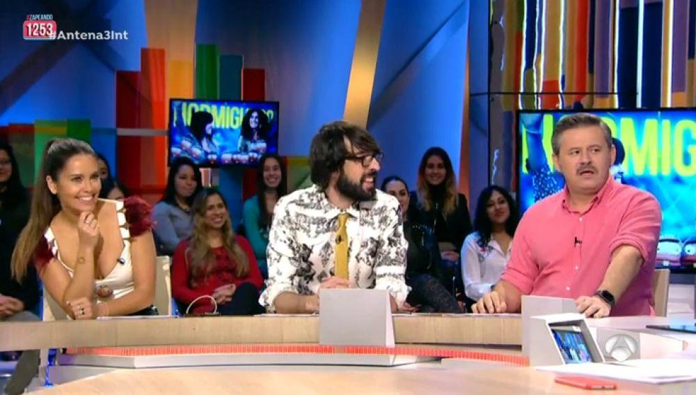 'Zapeando' grita con la última visita de las coaches de 'La Voz Kids' al 'Hormiguero 3.0'