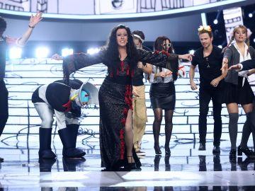 María Villalón se alza con el triunfo con una tremenda imitación de Dolores Vargas