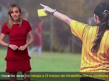 Una niña árbitro deja el fútbol por las amenazas y los insultos
