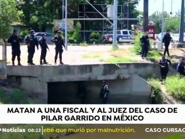 Asesinan al juez y al fiscal del caso Pilar Garrido en México