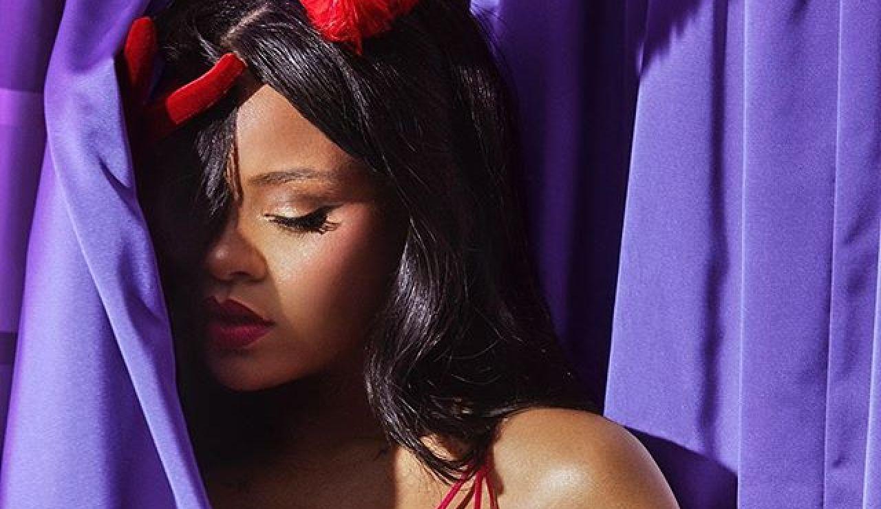 Rihanna en la colección de San Valentín de Savage x Fenty
