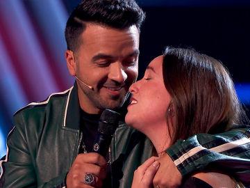 La Voz - Audiciones a ciegas 3 - Luis Fonsi canta 'No me doy por vencido' a Marina Damer