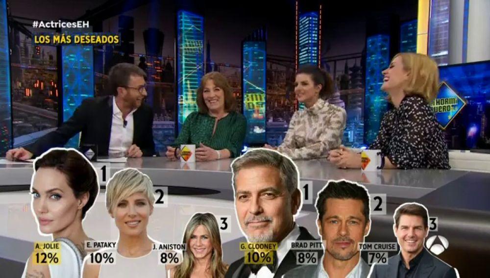 Angelina Jolie y George Clooney, los más deseados en 'El Hormiguero 3.0'