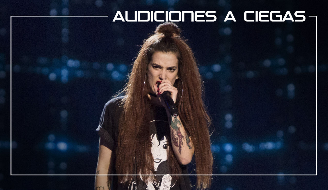 La Voz - Audiciones a ciegas 4 - Sandra Groove canta 'Shook me all night long' | Audiciones a ciegas