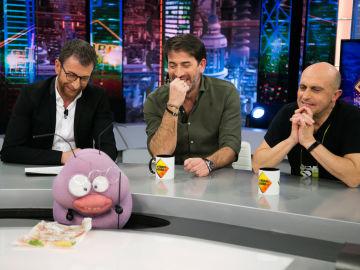 Antonio Garrido y Pepe Viyuela, más 'Des-carados' que nunca con Trancas y Petancas en 'El Hormiguero 3.0'
