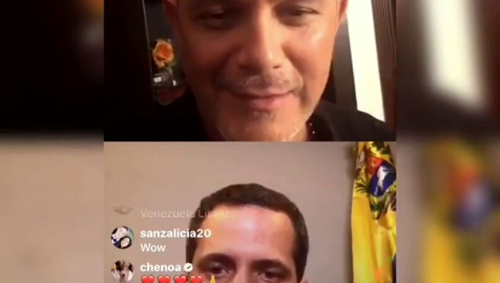 Juan Guaidó, entrevistado por Alejandro Sanz:
