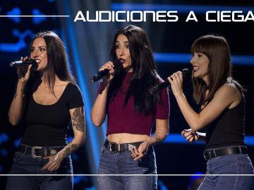 La Voz - Audiciones a ciegas 9 - El Trio Gavana canta 'Born this way' | Audiciones a ciegas