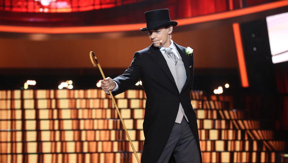Vídeo actuación Carlos Baute como Fred Astaire