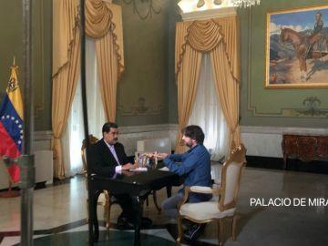 Así arranca la entrevista de Évole a Maduro