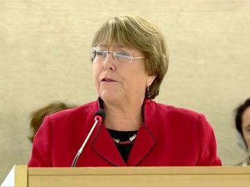 Guaidó agradece el apoyo de Bachelet tras los incidentes violentos en la frontera