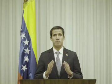 """Guaidó asegura que """"pronto"""" volverá a Venezuela para ejercer sus funciones"""