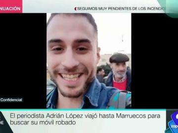 El periodista que hizo de su robo un reportaje