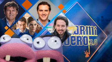 La próxima semana, Amaia Salamanca, Javier Rey, Pablo Iglesias, Albert Rivera y Toni Nadal serán los invitados de 'El Hormiguero 3.0'