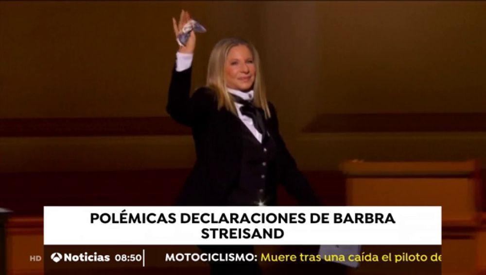 Barbra Streisand, protagonista en la polémica por el documental sobre Mickael Jackson