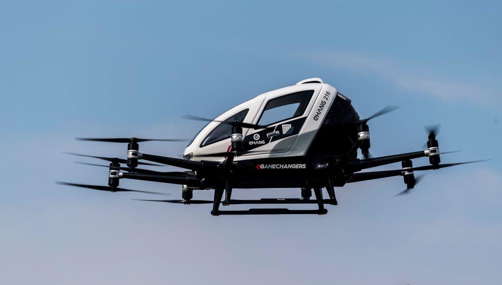 Un taxi 'volador' despega en Viena