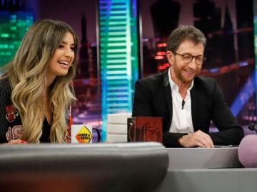 SUPER - Lola Índigo y su single 'Maldición' llenan de ritmo el plató de 'El Hormiguero 3.0'