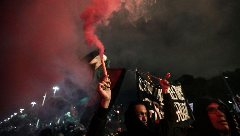 Los estudiantes encabezan la primera gran protesta contra Jair Bolsonaro