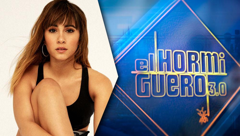 El jueves la cantante Aitana llenará de ritmo el plató de 'El Hormiguero 3.0'