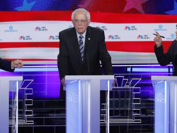 Debate demócrata en Estados Unidos