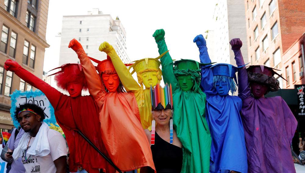 Desfile del Orgullo en Nueva York