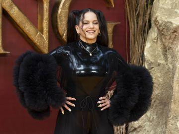 Rosalía en el estreno de 'El Rey León'