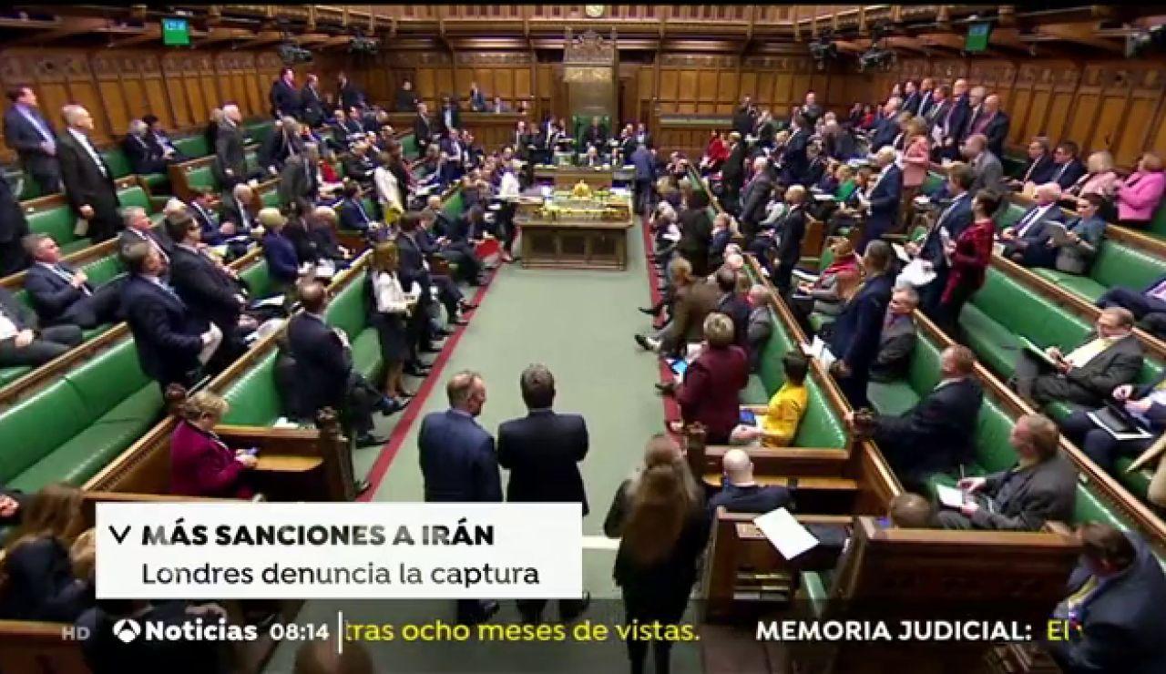 Más sanciones contra Irán, protestas en Hong Kong y la victoria de Zelenski en Ucrania