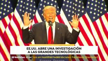 EE.UU. investiga a las grandes empresas tecnológicas