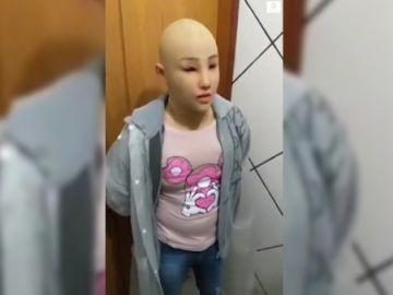 Preso brasileño disfrazado de su hija
