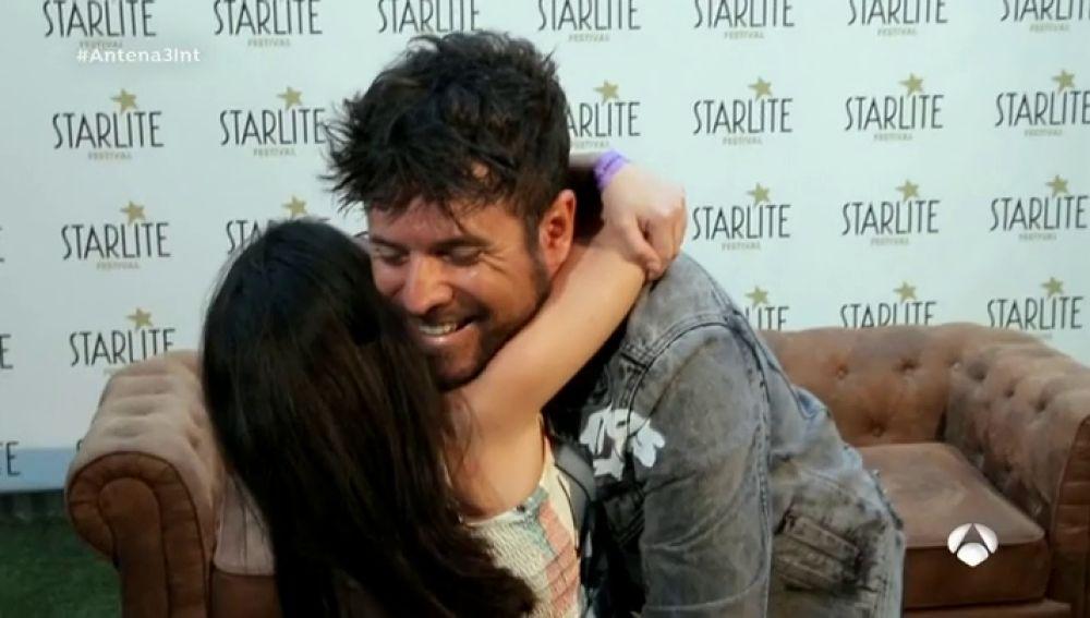 Marina y Nicolás, un sueño cumplido con Pablo López en Starlite