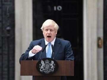 El primer ministro británico, el conservador Boris Johnson