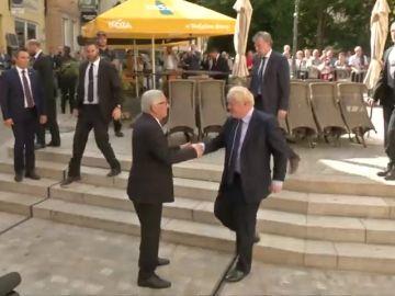 """Juncker recuerda a Johnson que es su responsabilidad plantear """"soluciones"""" ante la inminente fecha del 'brexit'"""