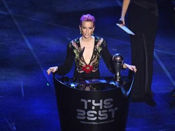 Megan Rapinoe gana el premio 'The Best' a mejor jugadora
