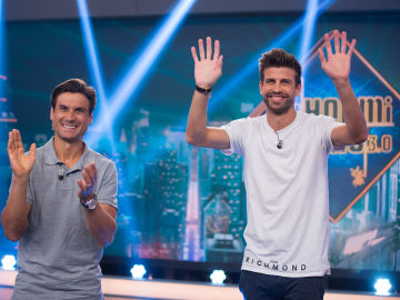 Revive la entrevista completa de Gerard Piqué y David Ferrer en 'El Hormiguero 3.0'