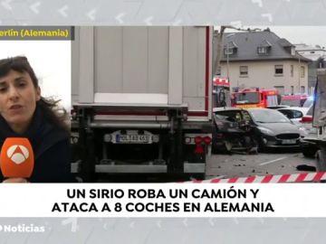 Un ataque con un camión deja al menos ocho heridos en Limburg (Alemania)