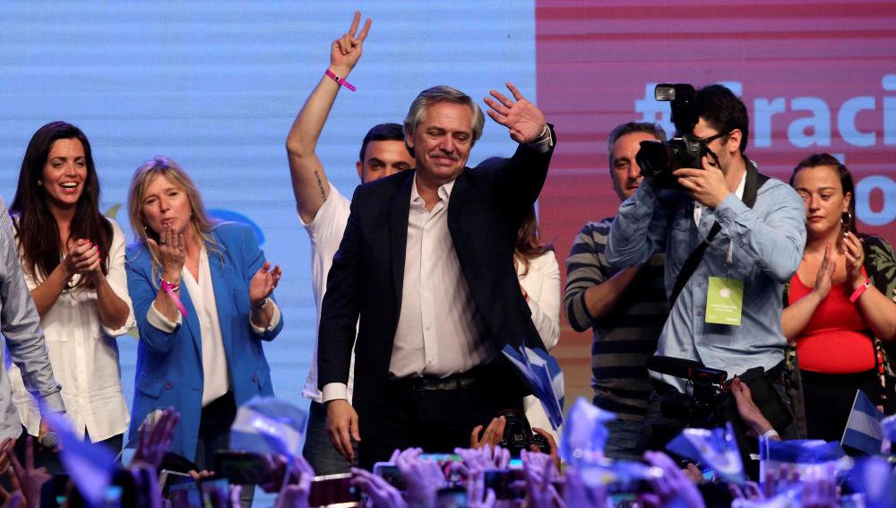 Alberto Fernández gana las elecciones en Argentina