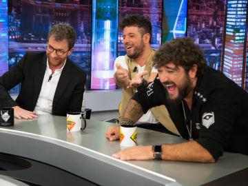 La emotiva sorpresa de Pablo López y Antonio Orozco a sus fans en 'El Hormiguero 3.0'
