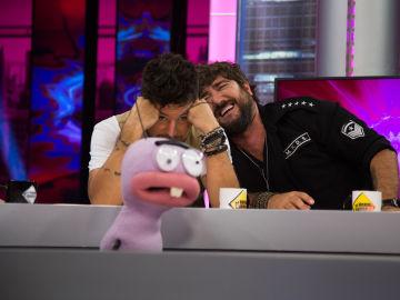 Trancas y Barrancas hacen llorar de risa con las valoraciones de Pablo López y Antonio Orozco en 'La Voz'