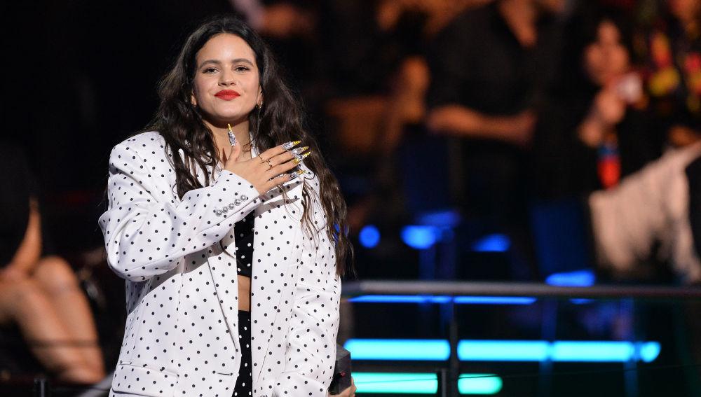 Rosalía durante los MTV EMAs 2019